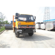 Swept-body refuse collector swing arm garbage truck