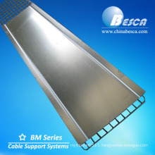 Flexible Electro Polishing Wire Mesh Cable Tray With Connector