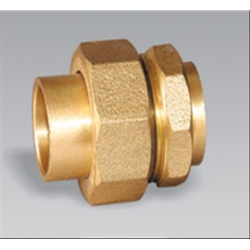 Brass pipe fitting brass Male Union
