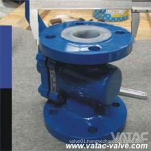 Flanged Ends CF8/CF8m Cast Sleeve Type Plug Valve