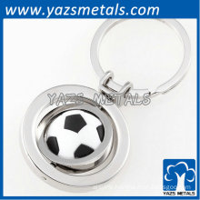 Metal keychain for coming World Cup