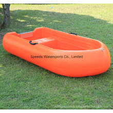 2 personnes petit bateau plastique PE de bateau de pêche le poids léger