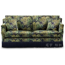 Печатные кожаный полиэстер замши ткань для диван Чехлы