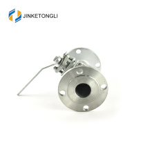 JKTLFB038 mini a216 wcb 2pc forged stainless steel full way valve