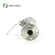 JKTLFB038 mini a216 wcb 2 pc forjado em aço inoxidável válvula de modo completo
