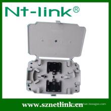 Bac à épissures à fibre optique à 24 ports couleur blanche