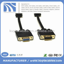 6 'SVGA VGA HD15 Stecker auf Buchse Monitor Verlängerungskabel M / F 6ft 6 ft
