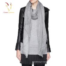Fashion Lady Solide Couleur Châle et Foulards Pashmina 2016