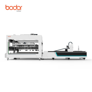 Automatic Loading exchange Laser Cutter