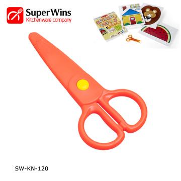 Верхняя продажа Пластиковые мини-детские детские ножницы