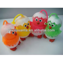 Animal Flashing Yoyo Puffer Ball