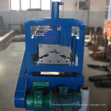 Top quality china supplier color steel roof ridge making machine