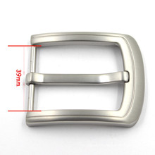 925 Silver Simple Fashion Men Jewelry Belt Buckle