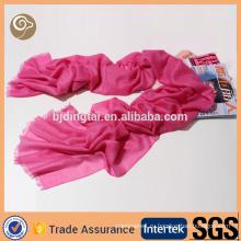 Тканые мода красный тонкий 100%кашемир шарф