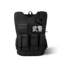 Protecteur anti-balles tactique de protection de la police armée