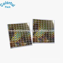 Customized self-adhesive hologram labels wholesale