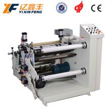 Máquina automática de rebobinamento e corte de filme de papel térmico automático