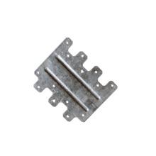 Stamping OEM Custom Sheet Metal Aluminum Alloy Side Fastening Plate Stamping Parts Stamping