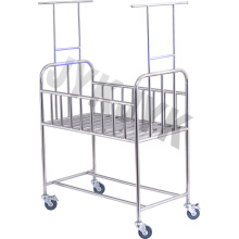 Stainless Steel Hospital Bassinet