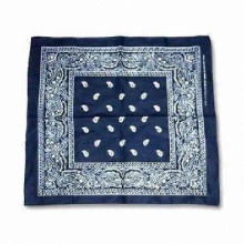 Bandana, Made of Cotton Sheet Fabric, Suitable for Men