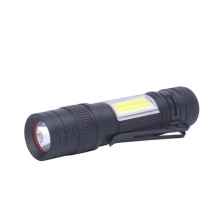 New EDC Side COB Mini AA Torch Light