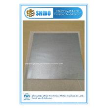 Plat de fabricant professionnel de la pureté élevée (99.95%) avec la qualité superbe
