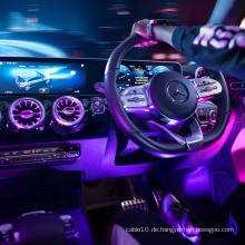 Side Glow PMMA Glasfaserkabel für Auto