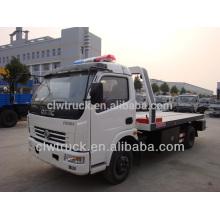 2015 del precio bajo Dongfeng DLK 4 * 2 camión del remolque del remolque para la venta