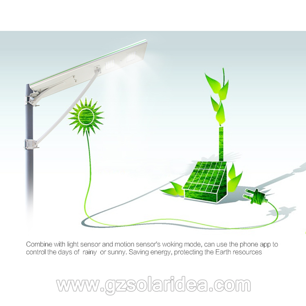 All-in-one  Outdoor Solar Powerd Street Lighting