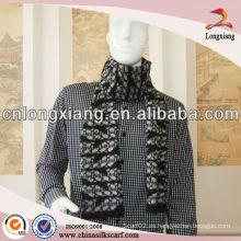 2014 Moda de seda bufanda Jacquard Textil