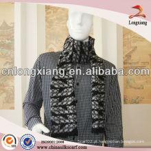 2014 Lenço de seda de moda Jacquard Textile