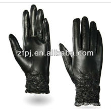 zf100 wholesale sheepskin black motorcycle gloves