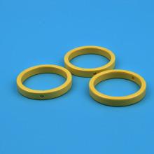 Bracelet en céramique à zircone jaune avec brute de jade