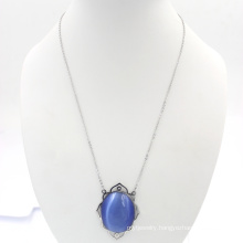 Sapphire Design Fashion Gem Necklace Jewelry Making Supplies