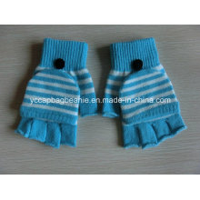 Winter Fashion Arylic Knitted Gloves Without Fingers