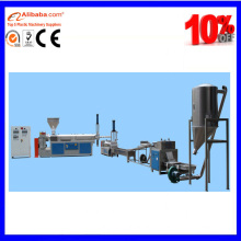 PP PE plastic double screw extruder price rate
