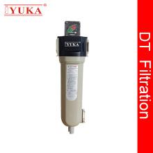 Filtros de aire comprimido con baja caída de presión