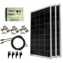 Ensemble complet de panneau solaire de 100 watts