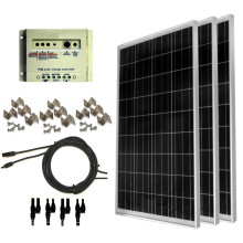 100 ватт панели солнечной панели полный комплект