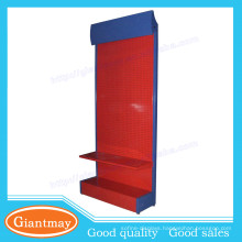 peg board power tool metal display stand for furniture stores