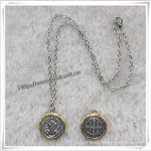 Newst Pendant Chain Rosary Necklace (IO-an085)
