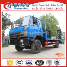 Dongfeng 1-10T flatbed camión carriles laterales para la venta