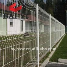 Valla de malla de alambre de hierro decorativa residencial