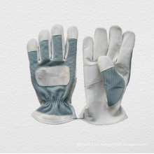 Leather Palm Spandex Back Mechanic Work Glove (7316)