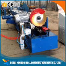 Aluminium downpipe roll forming machine