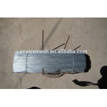 Alambre de corte recto negro, alambre de corte recto galvanizado