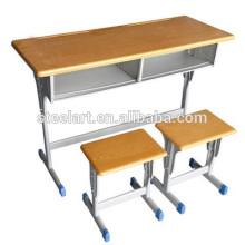 prix pas cher stock utilisé école chaise de bureau étudiant utilisation
