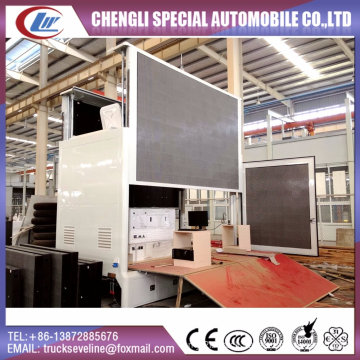 LED Display Advertising Truck Body Without Chassis