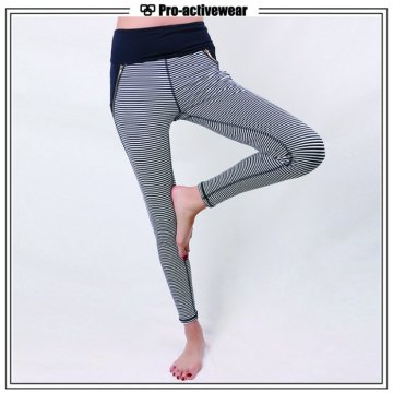 Custom Design Women Cropped Fitness Gym Yoga Pants