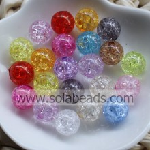 Chandelier 8mm Colored Ball Smooth Imitation Swarovski Beads